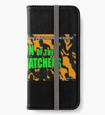 Invasion of the Border Snatchers iPhone Wallet/Case/Skin