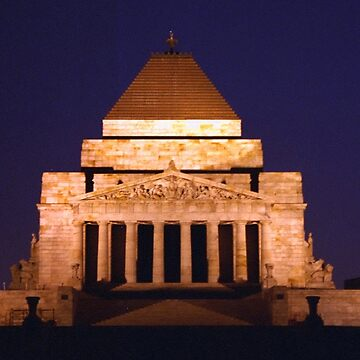 Shrine of Remembrance, Melbourne, Australia by AnnDixon