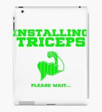 Installing Triceps Please Wait iPad Case/Skin