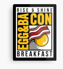 Egg & Bacon Metal Print