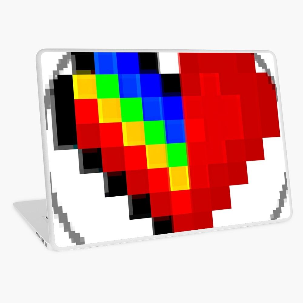 Emoji Heart 1 by RootCat Laptop Skin