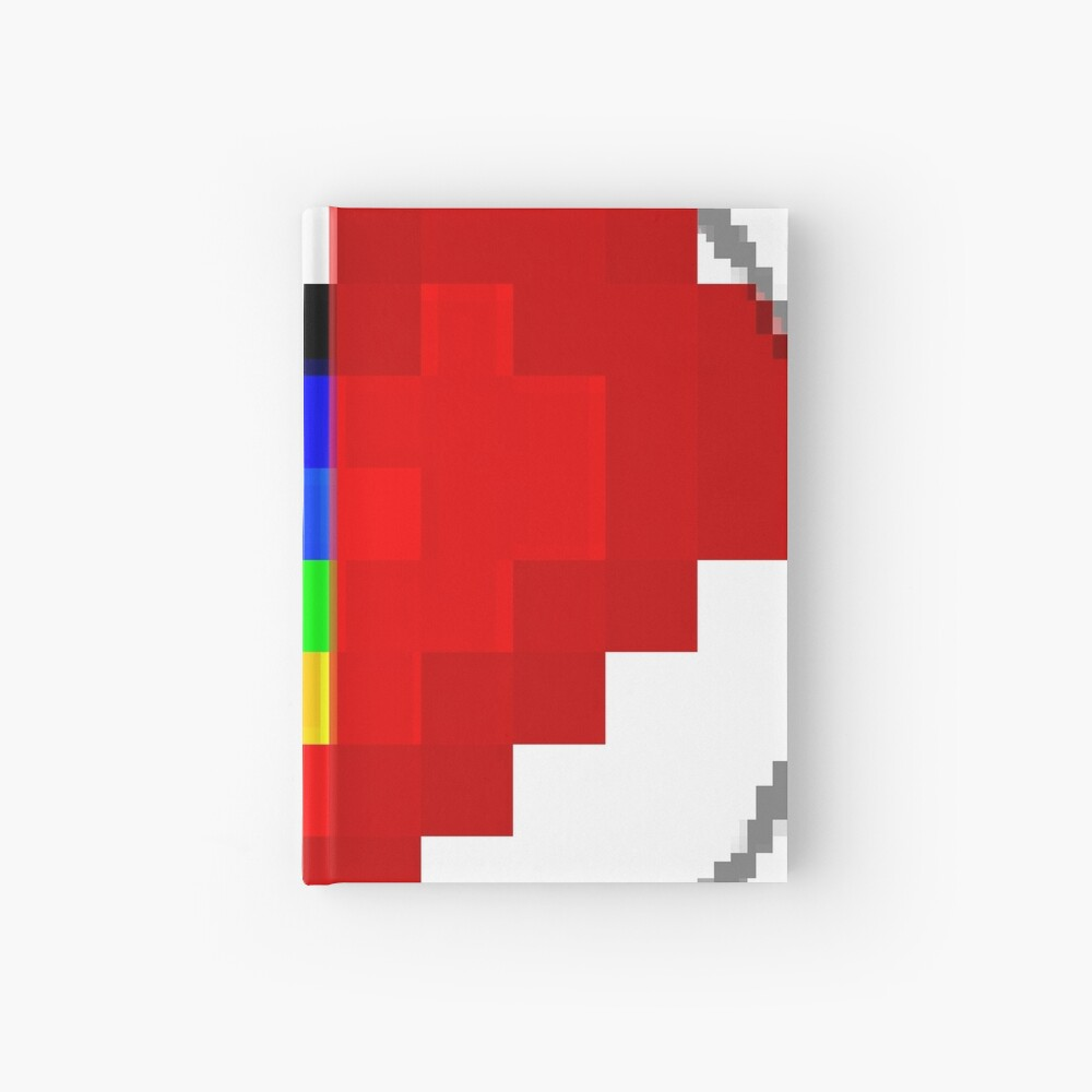 Emoji Heart 1 by RootCat Hardcover Journal