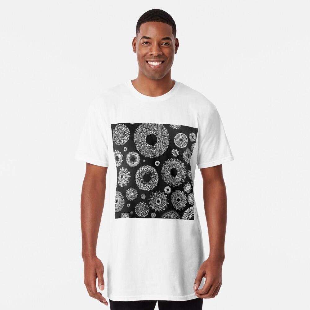 Tonos de gris Camiseta larga