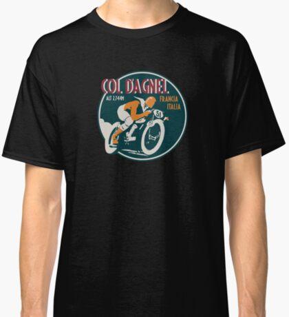 Col d'Agnel - Route des Grandes Alpes France Motorcycle Design Classic T-Shirt