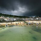 Cornwall : Storm in a Mousehole by Angie Latham