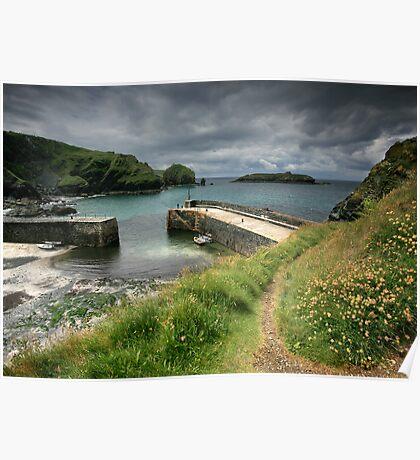 Cornwall : Moody Mullion Poster