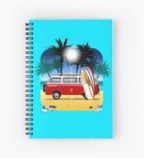 Cartoon Camper Spiral Notebook