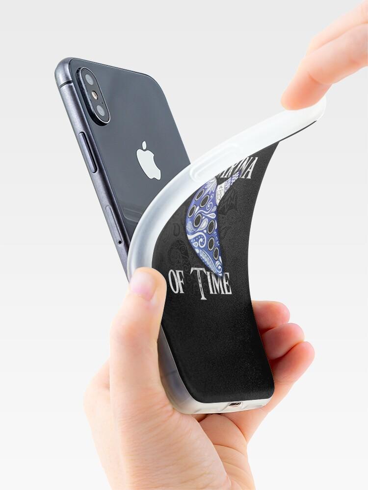 Vista alternativa de Funda y vinilo para iPhone Ocarina del tiempo
