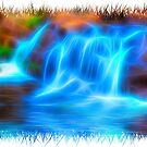 Sparkling Waterfall by Focal-Art