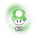 «1-UP de Mario» de artetbe