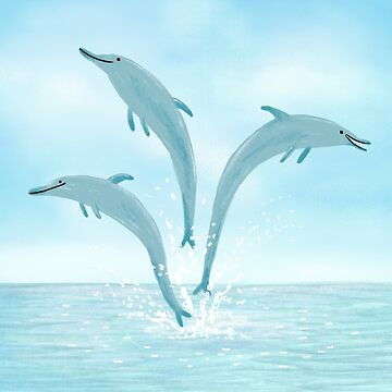 Jumping Dolphins by SophieCorrigan