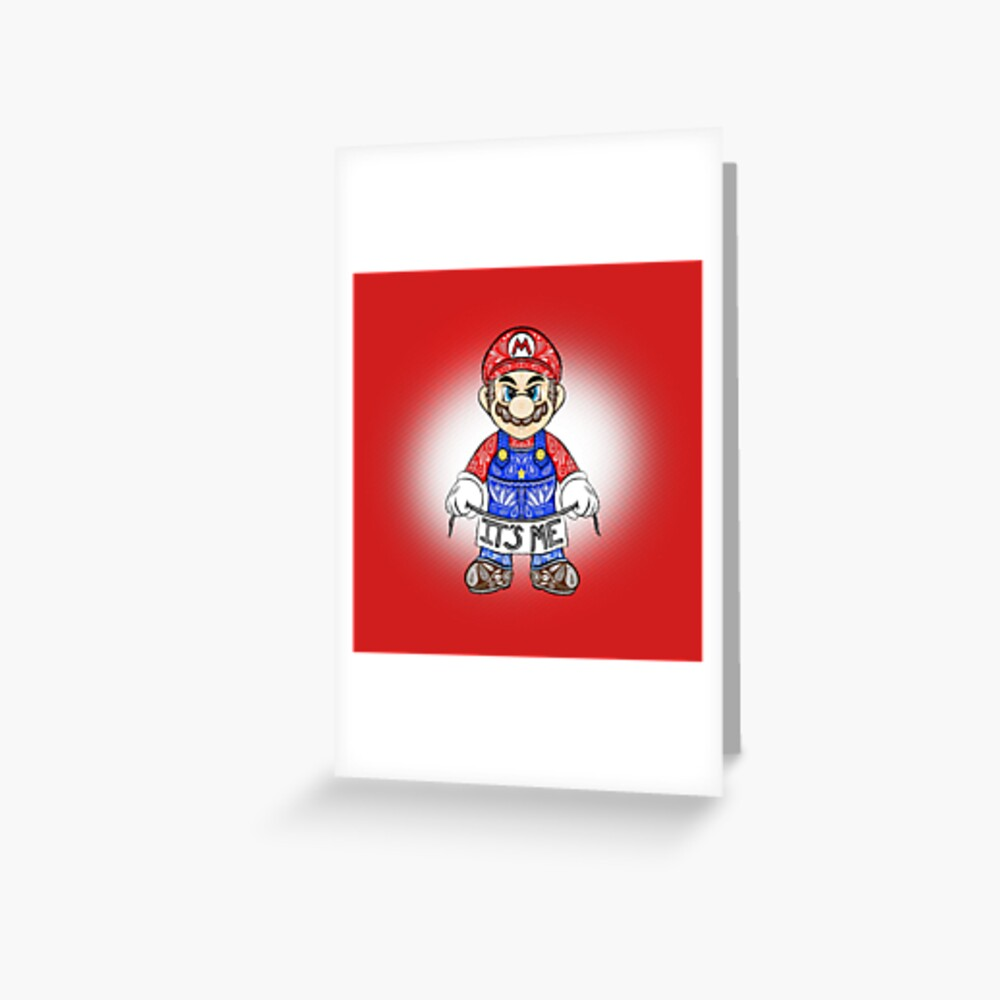 Soy yo, Mario! Tarjetas de felicitación