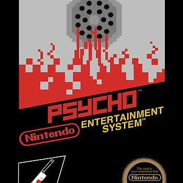 Psycho for the NES by ramox90