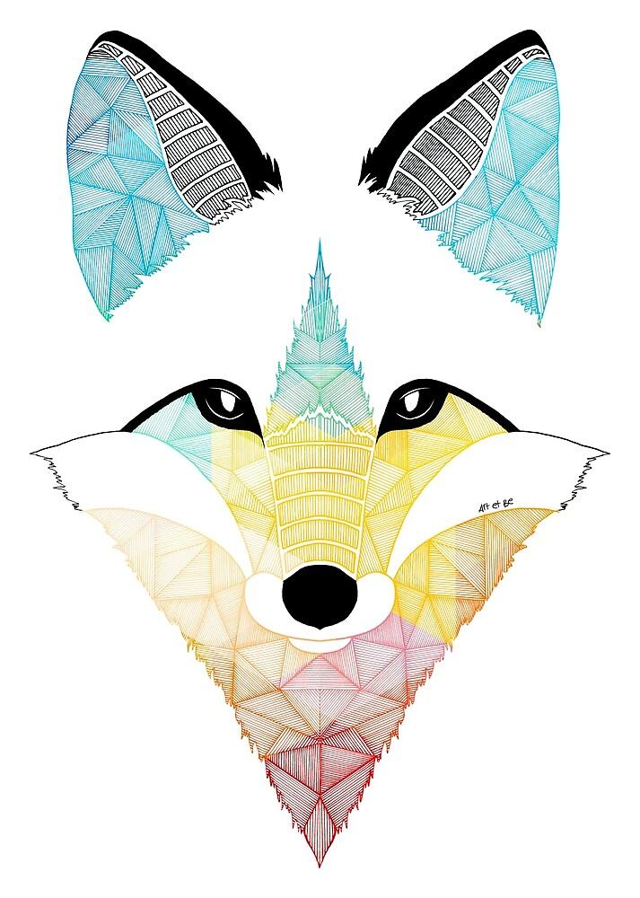 «Fox multicolor» de artetbe