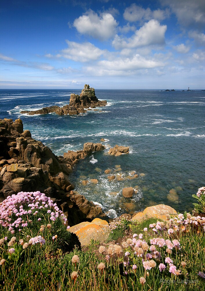 Cornwall : View to the Long Ships by Angie Latham