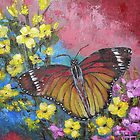 Butterfly by Pamela Plante