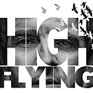 High Flying Text - Noel Gallagher Background by Russ Johnson