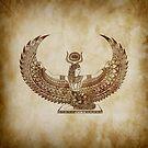 «Papiro Isis - Arte Egipcio» de artetbe