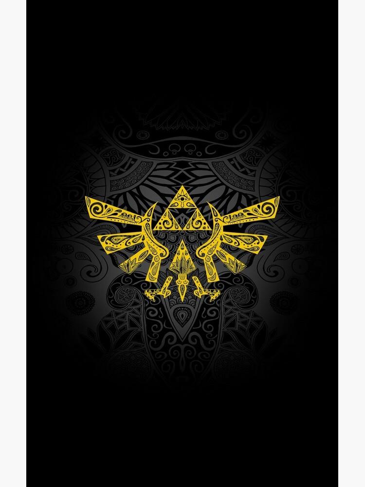 Hyrule Emblem Yellow by artetbe