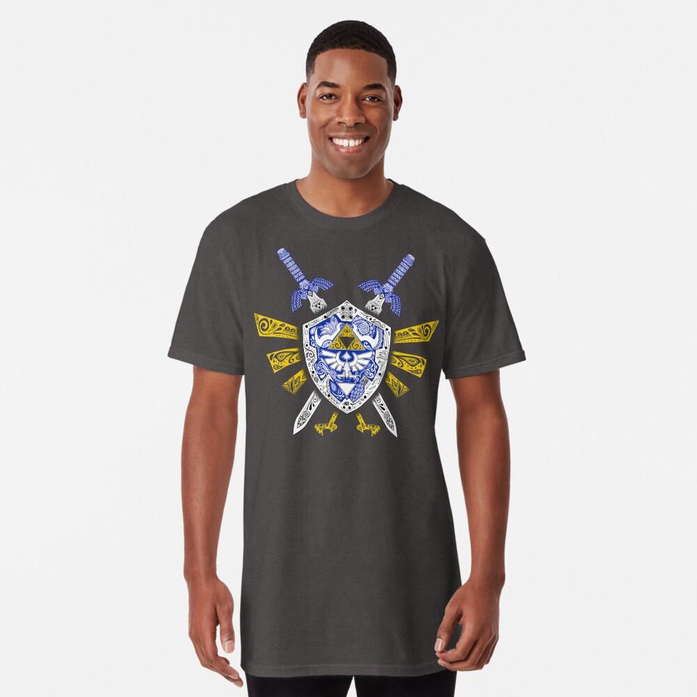 Camiseta largaLeyenda de los héroes - Zelda Delante
