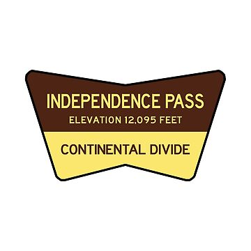 Independence Pass Colorado Rocky Mountains National Park by MyHandmadeSigns