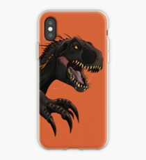 Vinilo o funda para iPhone Jurassic World Indoraptor