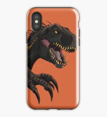 Vinilo o funda para iPhone Jurassic World Indoraptor