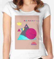 Artistic & Creativity Women's Fitted Scoop T-Shirt