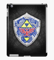 Zelda - Link Shield Gekritzel iPad-Hülle & Klebefolie