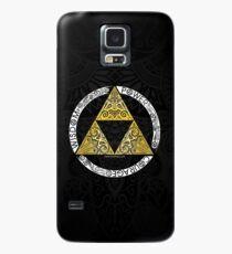 Zelda - Triforce-Kreis Hülle & Klebefolie für Samsung Galaxy