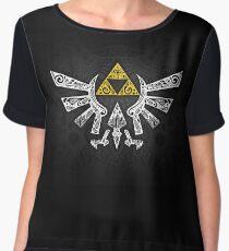 Zelda - Hyrule doodle Chiffon Top