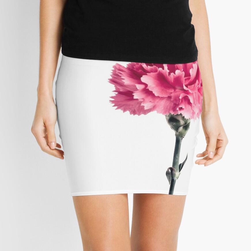 Pink carnation Mini Skirt