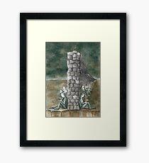 """The Wall We Built"" Framed Print"