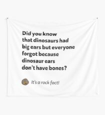It's a rock fact! #2 Wall Tapestry