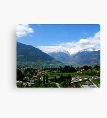 Huge Mountains Canvas Print
