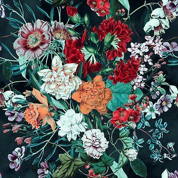 Midnight Garden by burcukyurek