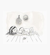 Breastfeeding Siesta Photographic Print