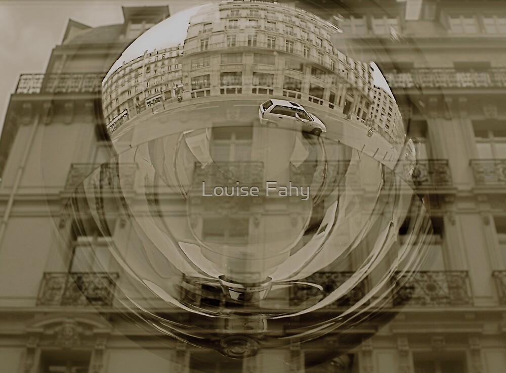 Paris Reflections by Louise Fahy