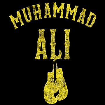 RIP Muhammad Ali American Professional Boxer Boxing Gloves by DollarPrints