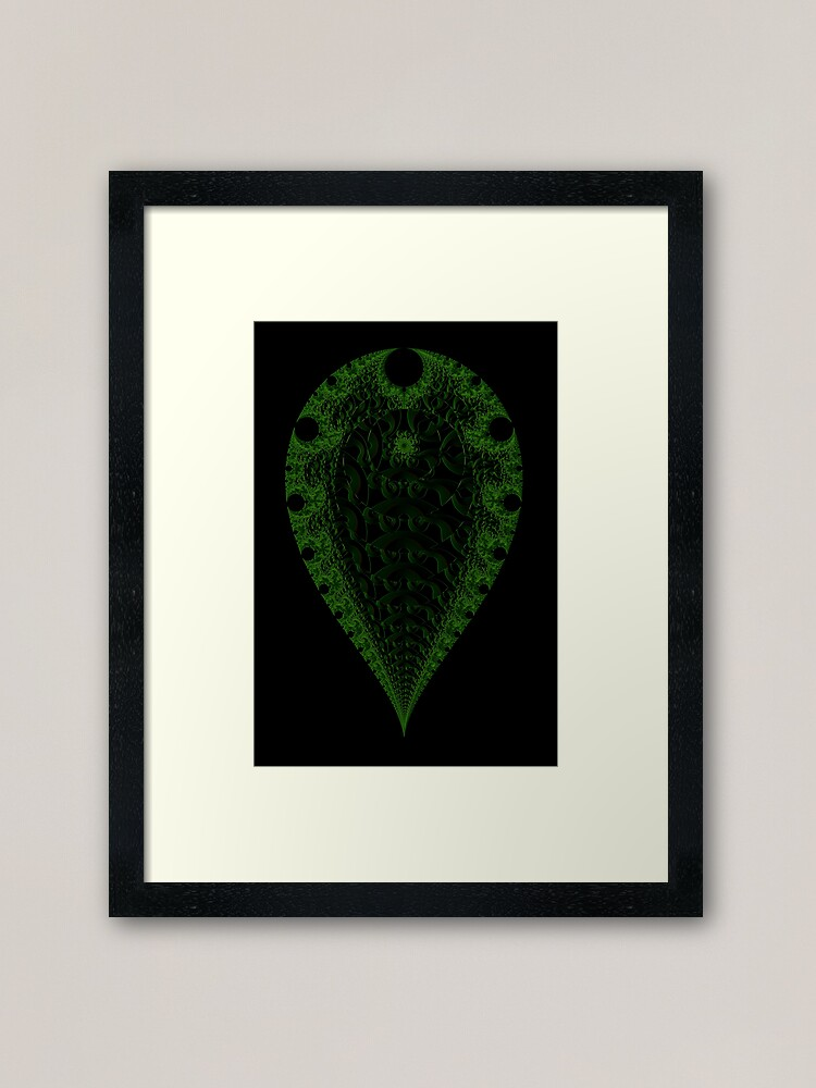 Alternate view of Verdant III Framed Art Print