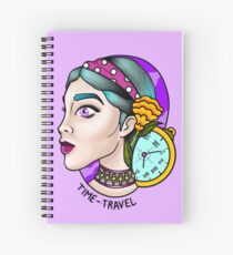 TIME-Travel Spiral Notebook