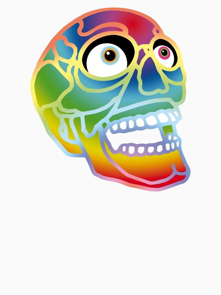 Pride Skull by tierneyart