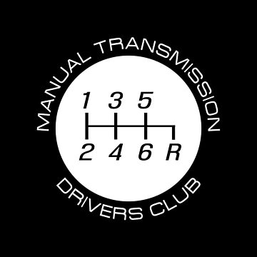 Manual Transmission Drivers Club by ApexFibers