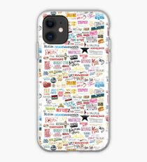 Classic Broadway Poster Now And Forever Cats iphone case