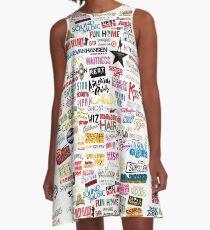Musicals A-Linien Kleid