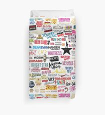 Musicals Duvet Cover