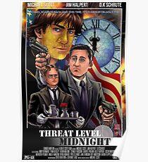 Threat Level Midnight Movie Poster - Micheal Scarn Poster