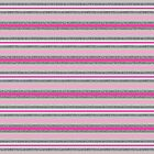 Beautiful Pink Glitter Striped Pattern Artwork by WearSmart
