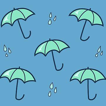 Rainy Day Pattern by HungryRam45