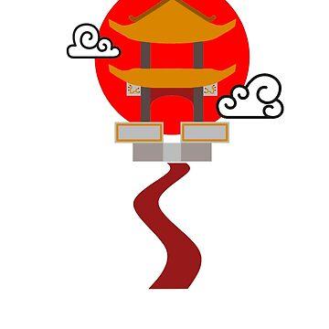 Pagoda by CamrosX